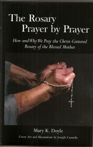 The Rosary Prayer by Prayer Cover