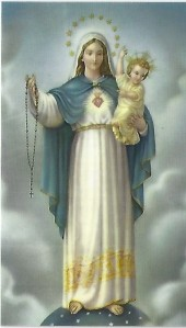 Mary, Rosary, Jesus